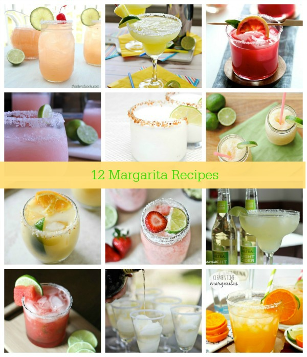 #12 margarita recipes