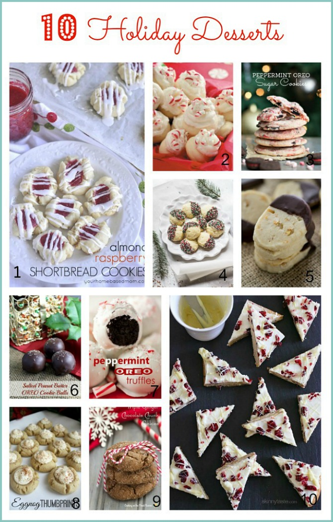 10 Holiday Desserts