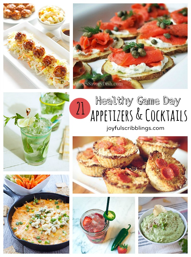 Healthy game day appetizer recipes