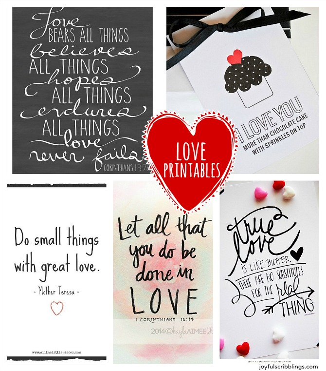 Free Love Quotes: Five Free Printable Love Quotes