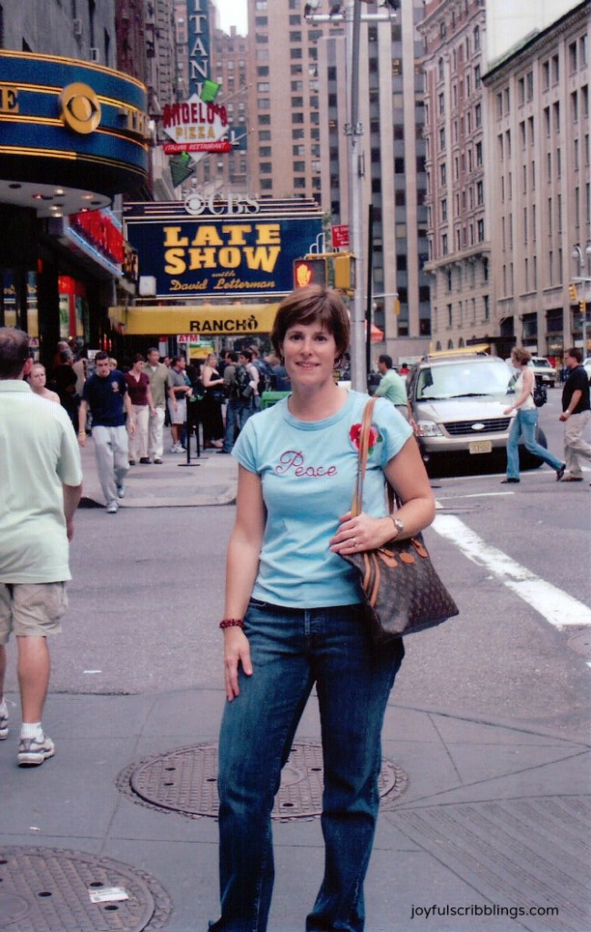 Me at the Late Show with David Letterman
