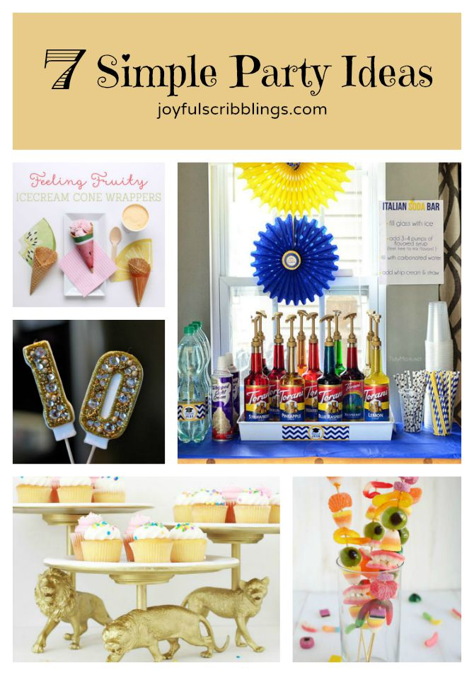 7 Simple Party Ideas
