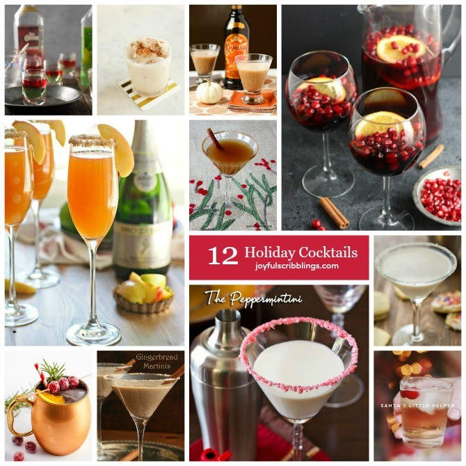 12 holiday cocktails for thanksgiving and christmas for Cocktail 670