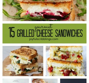 15 Gourmet Grilled Cheese Sandwiches